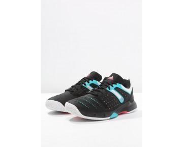Deportivos calzados adidas Performance Court Stabil 12 Mujer Núcleo Negro/Blanco/Shock Verde,adidas rosas y azules,adidas negras superstar,alta calidad