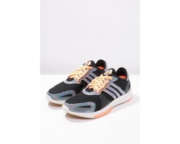 Zapatos deportivos adidas Performance Yvori Mujer Núcleo Negro/Flash Naranja/Chalk Blanco,zapatos adidas 2017,zapatos adidas para,comerciante