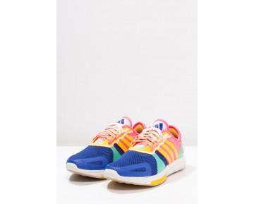 Zapatos deportivos adidas Performance Yvori Mujer Turbo/Bold Azul/Bright Verde,adidas rosa palo 2017,adidas ropa interior,interesante