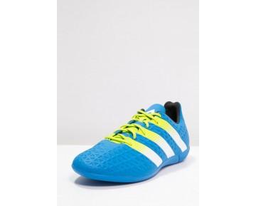 Zapatos de fútbol adidas Performance Ace 16.3 In Hombre Shock Azul/Semi Solar Slime/Blanco,ropa imitacion adidas,adidas running baratas,descubrir