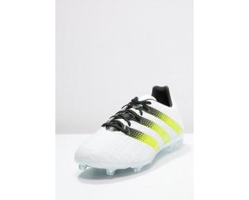 Zapatos de fútbol adidas Performance Ace 16.2 Fg/Ag Hombre Blanco/Semi Solar Slime/Shock Mint,adidas rosas nmd,adidas zapatillas nmd,baratas madrid