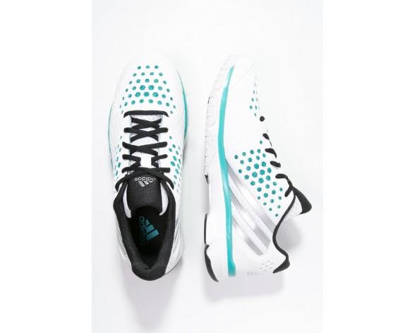 Zapatos de voleibol adidas Performance Volley Response Boost Mujer Blanco/Matte Plata/Shock Verd,adidas negras y doradas,outlet ropa adidas santiago,en Mérida
