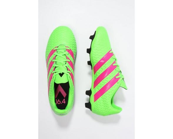 Zapatos de fútbol adidas Performance Ace 16.4 Fxg Hombre Solar Verde/Shock Rosa/Núcleo Negro,adidas rosas nmd,adidas negras superstar,fresco