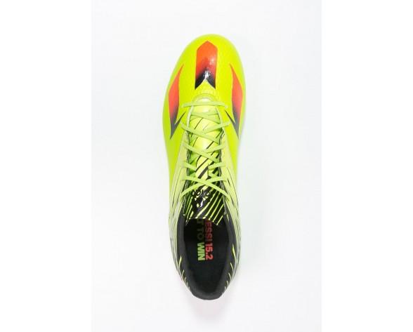 Zapatos de fútbol adidas Performance Messi 15.2 Hombre Semi Solar Slime/Solar Rojo/Núcleo Negro,zapatillas adidas blancas,adidas negras y blancas,imagen