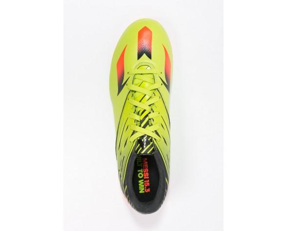 Astro turf trainers adidas Performance Messi 15.3 Tf Hombre Semi Solar Slime/Solar Rojo/Núcleo N,chaquetas adidas superstar,ropa adidas outlet madrid,más caliente