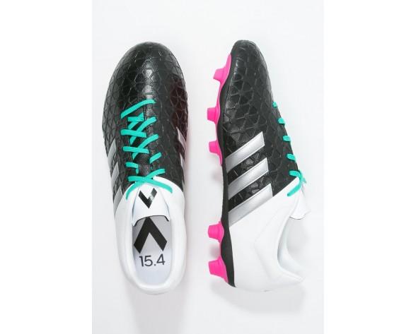 Zapatos de fútbol adidas Performance Ace 15.4 Fxg Hombre Núcleo Negro/Metallic Plata/Blanco,zapatillas adidas chile,zapatos adidas para es,delicado