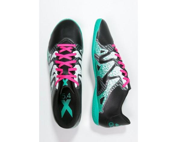 Zapatos de fútbol adidas Performance X 15.4 In Hombre Núcleo Negro/Shock Mint/Blanco,reloj adidas originals,zapatos adidas ecuador,noble