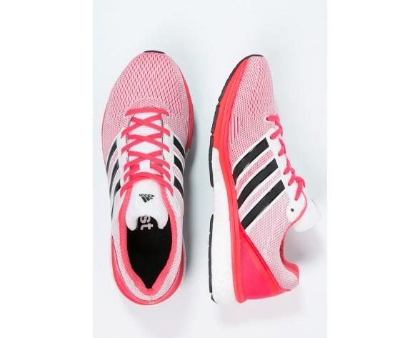 Zapatos para correr adidas Performance Adizero Boston Boost 5 Mujer Blanco/Núcleo Negro/Shock Ro,adidas baratas superstar,tenis adidas baratos df,temperamento