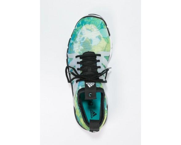 Zapatos deportivos adidas Performance Core Grace Mujer Halo/Núcleo Negro/Shock Verde,reloj adidas dorado,zapatos adidas blancos para,popular