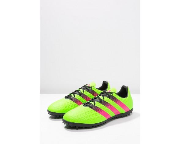 Astro turf trainers adidas Performance Ace 16.3 Tf Hombre Solar Verde/Shock Rosa/Núcleo Negro,venta relojes adidas baratos,adidas ropa,tema