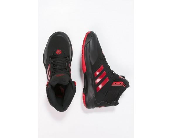 Zapatos de baloncesto adidas Performance D Rose 773 Iv Td Hombre Núcleo Negro/Scarlet,outlet ropa adidas santiago,adidas sale,avanzado