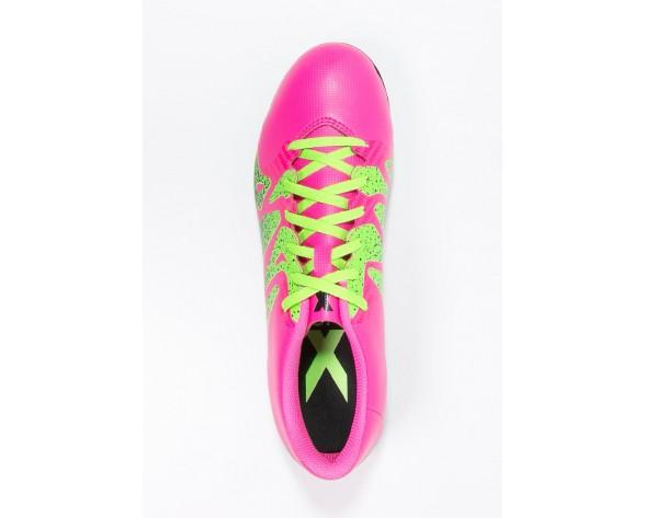 Zapatos de fútbol adidas Performance X 15.4 Fxg Hombre Shock Rosa/Solar Verde/Núcleo Negro,ropa adidas outlet,adidas scarpe,primer plano