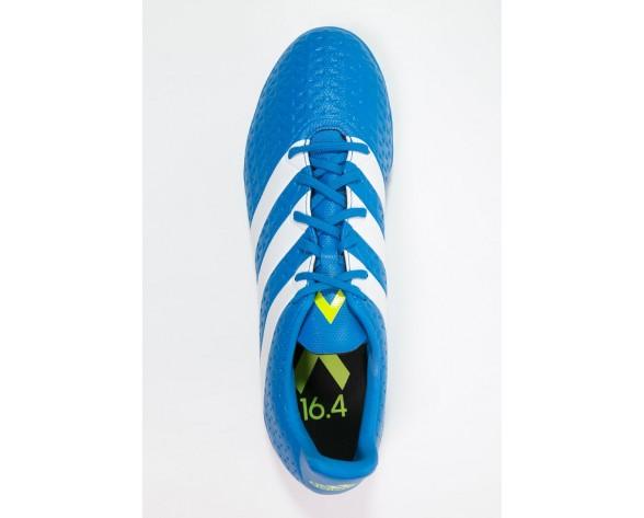Astro turf trainers adidas Performance Ace 16.4 Tf Hombre Shock Azul/Blanco/Semi Solar Slime,zapatos adidas nuevos,zapatos adidas para es,en venta