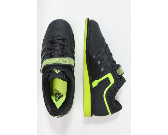 Zapatos deportivos adidas Performance Powerlift 2.0 Hombre Oscuro Gris/Solar Amarillo/Núcleo Neg,ropa outlet adidas original,ropa adidas barata online,dignidad