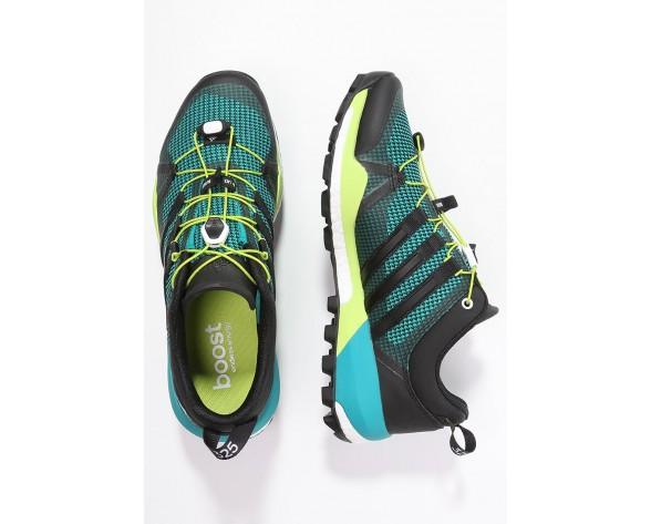 Zapatos para caminar adidas Performance Terrex Skychaser Hombre Verde/Núcleo Negro/Semi Solar Sl,adidas ropa barata,adidas blancas y negras,para vender