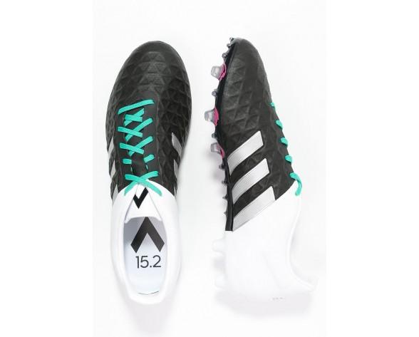 Zapatos de fútbol adidas Performance Ace 15.2 Fg/Ag Hombre Núcleo Negro/Matte Plata/Blanco,relojes adidas baratos,ropa adidas trail running,Madrid tienda online