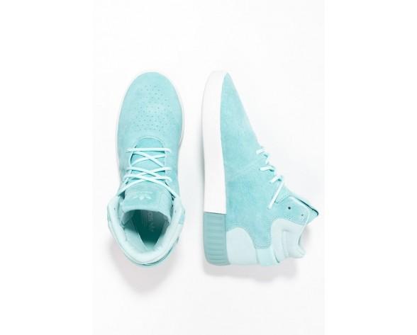 Trainers adidas Originals Tubular Invader Hombre Clear Aqua/Vintage Blanco,adidas blancas y doradas,adidas rosas nuevas,venta