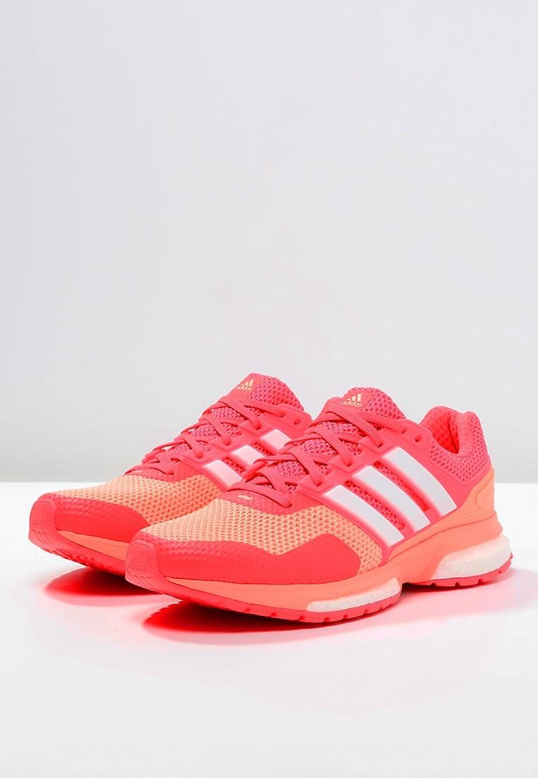 designer fashion db5cd 4ea68 Zapatos para correr adidas Performance Response Boost 2 Mujer Sun  Glow Blanco Shock Rojo,adidas negras y blancas,adidas ropa deportiva,precios