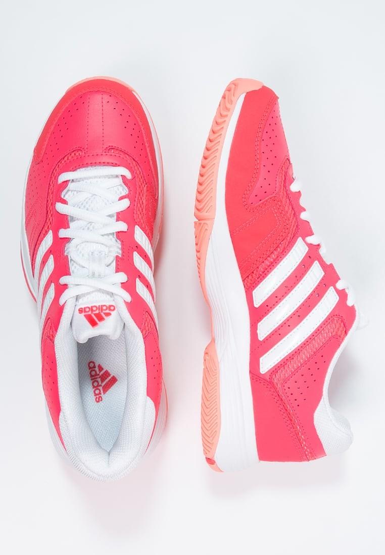 3ea28fb5a884a Deportivos calzados adidas Performance Barricade Court 2 Mujer Shock  Rojo Blanco Sun Glow