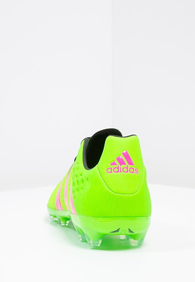 Zapatos de fútbol adidas Performance Ace 16.2 Fg Ag Hombre Solar Verde Shock  Rosa. Precio regular  120 af6c14451946b
