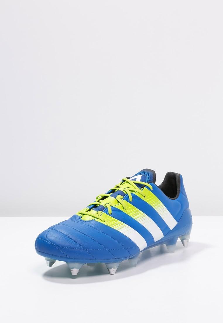 premium selection 96734 9feba ... adidas Performance Ace 16.1 Sg Hombre Shock Azul Semi Solar Slime .  Precio regular  201,60 €