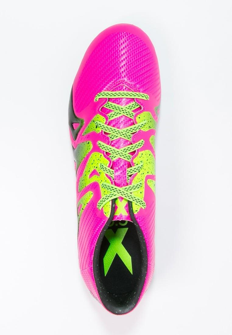 new product 36b91 861f2 Zapatos de fútbol adidas Performance X 15.3 Fg Ag Hombre Shock Rosa Solar  Verde Núcleo Negro,ropa imitacion adidas,bambas adidas,poseer