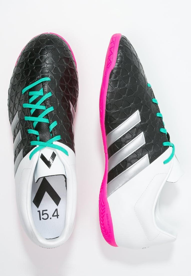 01366800 Zapatos de fútbol adidas Performance Ace 15.4 In Hombre Núcleo Negro/Metallic  Plata/Blanco,adidas running,ropa imitacion adidas,gusta