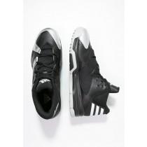 Zapatos de baloncesto adidas Performance First Step Hombre Núcleo Negro/Blanco/Plata Metallic,chaquetas adidas imitacion,zapatillas adidas precio,españa outlet