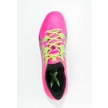 Zapatos de fútbol adidas Performance X 15.1 Fg/Ag Hombre Shock Rosa/Solar Verde/Núcleo Negro,adidas running,adidas superstar rosas,Programa de compra