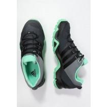 Zapatos para caminar adidas Performance Ax2 Mujer Vista Gris/Núcleo Negro/Verde Glow,adidas ropa deportiva,zapatos adidas precio,tranquilizado
