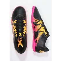 Zapatos de fútbol adidas Performance X 15.4 In Hombre Núcleo Negro/Shock Rosa/Solar Oro,adidas running shoes,chaquetas adidas originals,ventas por mayor