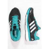 Zapatos para correr adidas Performance Supernova Glide 8 Hombre Núcleo Negro/Blanco/Verde,zapatos adidas 2017 para es,adidas schuhe,venta en linea