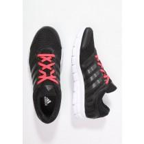 Zapatos para correr adidas Performance Breeze 101 2 Mujer Núcleo Negro/Night Metallic/Shock Rojo,bambas adidas,adidas blancas y doradas,guía de compras