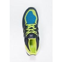 Zapatos para correr adidas Performance Ultra Boost Hombre Semi Solar Slime/Night Armada/Shock Az,adidas sudaderas,chaquetas adidas vintage,más bella