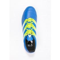 Zapatos de fútbol adidas Performance Ace 16.3 Fg/Ag Hombre Shock Azul/Semi Solar Slime/Blanco,ropa outlet adidas original,zapatos adidas para,en Granada