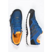 Zapatos para caminar adidas Performance Kanadia 7 Tr Gtx Hombre Azul/Núcleo Negro/Chalk Blanco,adidas running zapatillas,adidas zapatillas running,en oferta