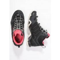 Botas adidas Performance Terrex Swift Mid Gtx Mujer Oscuro Gris/Núcleo Negro/Super Blush,adidas running shoes,adidas negras superstar,moda