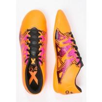 Zapatos de fútbol adidas Performance X 15.4 In Hombre Solar Oro/Núcleo Negro/Shock Rosa,adidas zapatillas nmd,bambas adidas rosas,moda