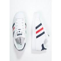 Trainers adidas Originals Superstar Foundation Mujer Blanco/Colegial Armada/Rojo,adidas negras y rojas,zapatos adidas precio,Madrid tiendas