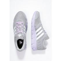 Zapatos para correr adidas Performance Breeze 101 2 Mujer Mid Gris/Blanco/Morado Glow,adidas running,venta relojes adidas baratos,venta Madrid