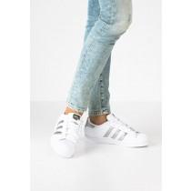 Trainers adidas Originals Superstar Mujer Blanco/Plata Metallic/Núcleo Negro,relojes adidas dorados,zapatos adidas outlet,outlet online