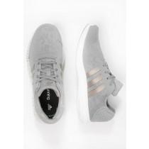 Zapatos para correr adidas Performance Element Refresh Mujer Solid Gris/Platin Metallic/Blanco,adidas superstar doradas,chaquetas adidas baratas,noble