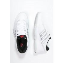 Deportivos calzados adidas Performance Barricade Court 2 Mujer Blanco/Matte Plata/Núcleo Negro,chaquetas adidas,adidas negras rayas blancas,acogedor