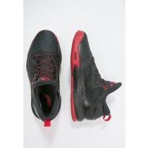 Zapatos de baloncesto adidas Performance D Lillard 2 Hombre Núcleo Negro/Scarlet,adidas zapatillas,bambas adidas,baratas