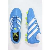 wholesale dealer cda13 3c9b0 Zapatos de fútbol adidas Performance Ace 16.4 Fxg Hombre Shock  Azul Blanco Semi Solar