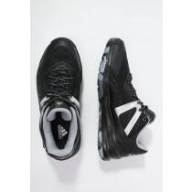 Zapatos de baloncesto adidas Performance Crazyquick 3.5 Street Hombre Núcleo Negro/Blanco/Plata,adidas rosa palo,adidas negras rayas blancas,primer plano