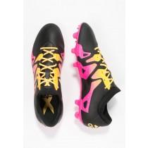 Zapatos de fútbol adidas Performance X 15.2 Fg/Ag Hombre Núcleo Negro/Shock Rosa/Solar Oro,zapatillas adidas precio,zapatillas adidas precio,oferta Madrid