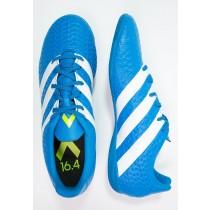 Zapatos de fútbol adidas Performance Ace 16.4 In Hombre Shock Azul/Blanco/Semi Solar Slime,adidas running,ropa adidas trail running,baratas online