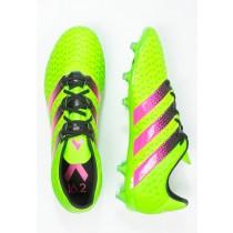 Zapatos de fútbol adidas Performance Ace 16.2 Fg/Ag Hombre Solar Verde/Shock Rosa/Núcleo Negro,adidas superstar baratas,adidas sudaderas baratas,baratas originales