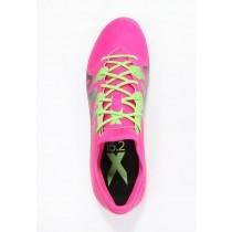 Zapatos de fútbol adidas Performance X 15.2 Fg/Ag Hombre Shock Rosa/Solar Verde/Núcleo Negro,reloj adidas originals,adidas rosas,compra
